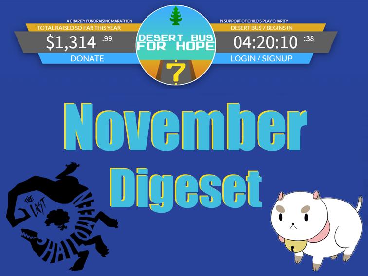 November Digest 2013